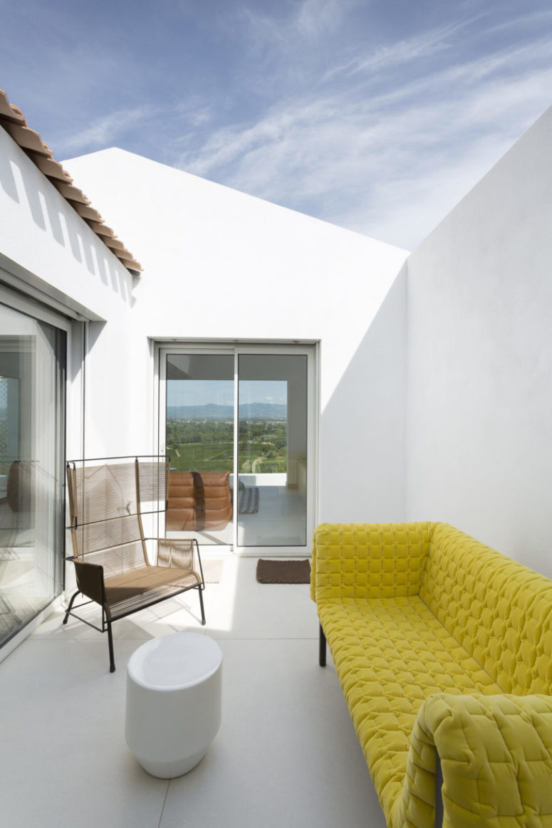 There are amazing views and the privacy is provided due to the courtyards easily
