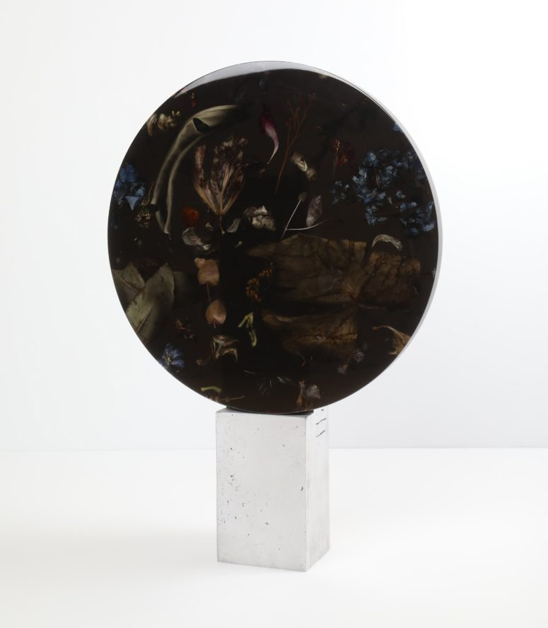 This is a sculpture from the collection, looks very decadent and chic