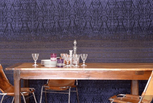 Controvento Positano has a raffia aspect weave and unique colors