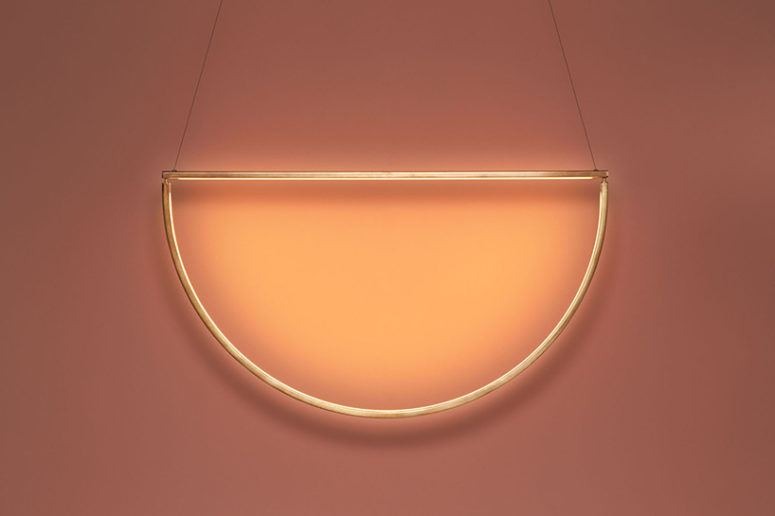 Hang this light where you want to accentuate something