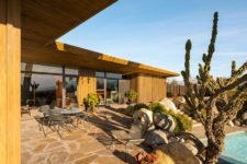 10 This is an outdoor dining zone with amazing landscaping and hardscaping