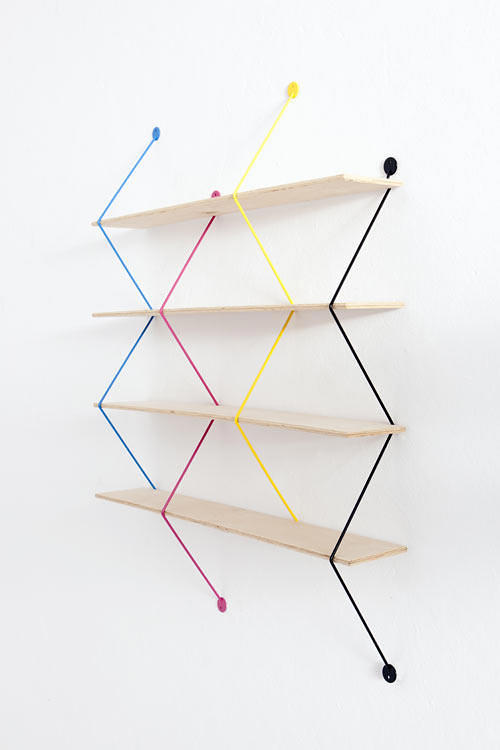 Serpent shelving system by Bashko Trybek (via www.furniturefashion.com)