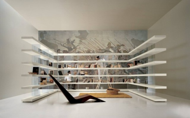 Air Shelving System by LAGO (via www.digsdigs.com)
