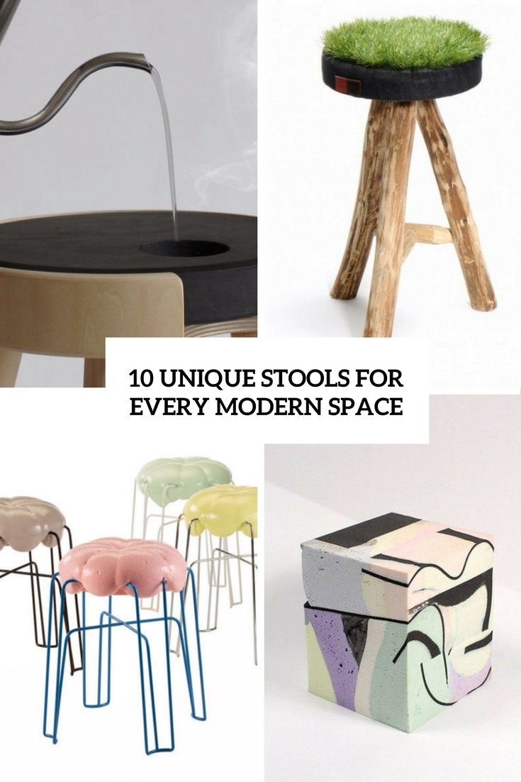 unique stools for every modern space cover