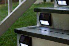 18 solar step lights are budget-savvy and comfy in using