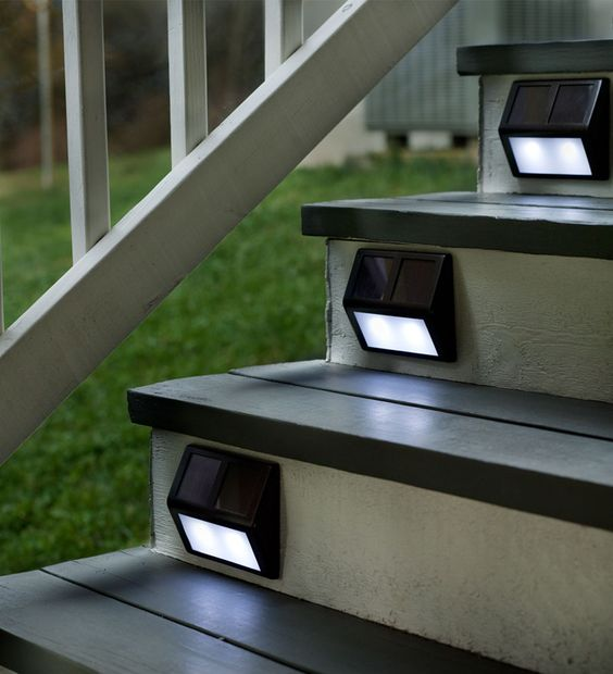 solar step lights are budget-savvy and comfy in using