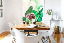 26 tropical-inspired oversized artwork makes a cool bold statement