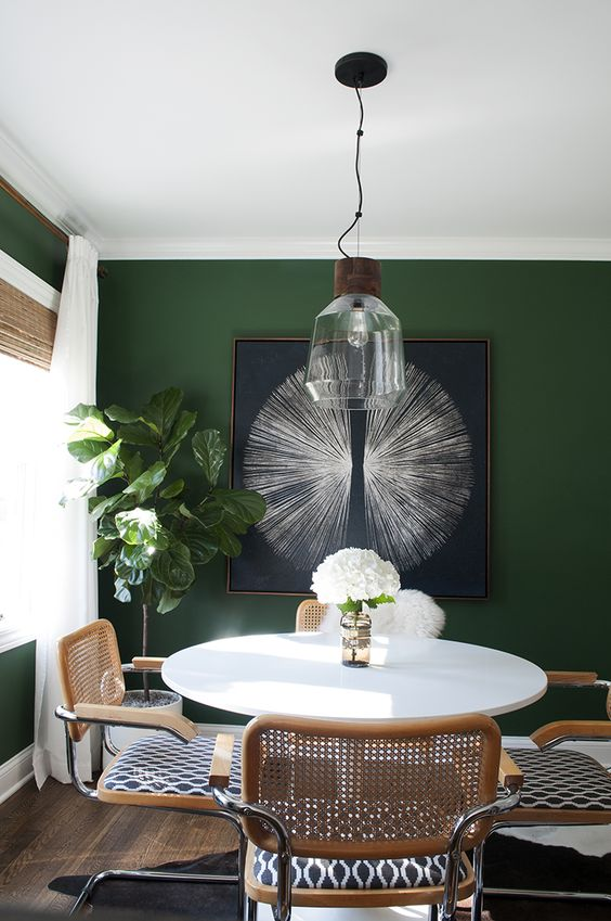 you can create such a unique artwork yourself to decorate a wall