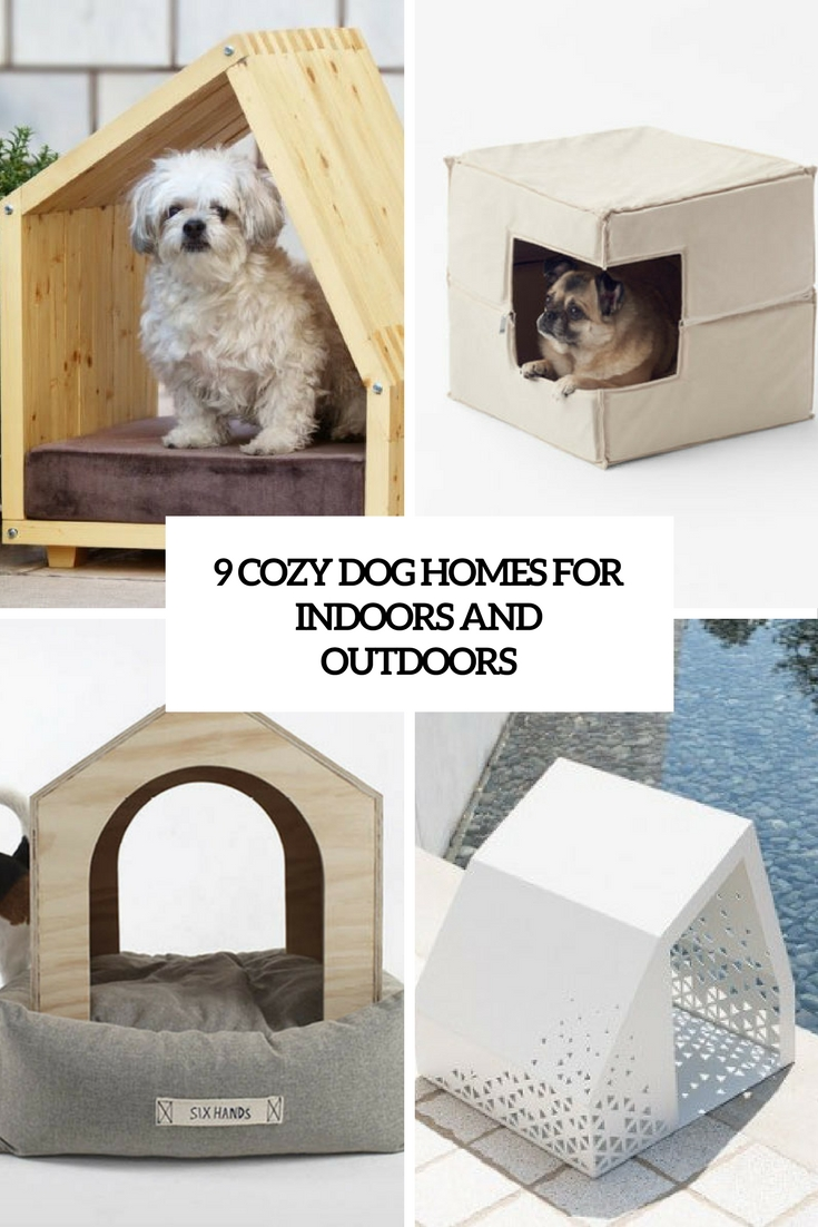 9 Cozy Dog Homes For Indoors And Outdoors