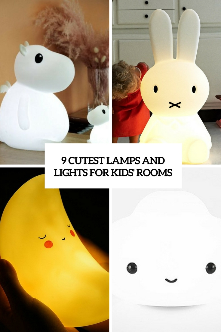 9 Cutest Lamps And Lights For Kids' Rooms