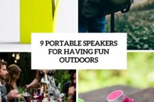 9 portable speakers for having fun outdoors cover