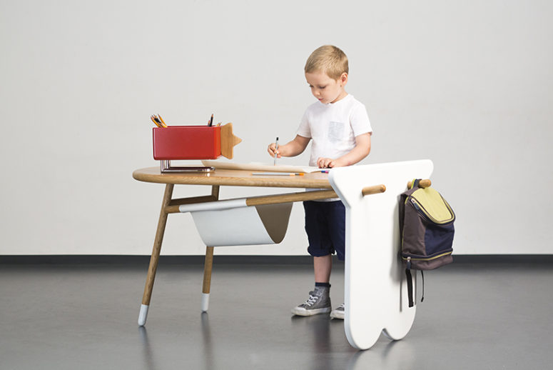 Avlia desk by Nataša Njegovanović (via www.designboom.com)