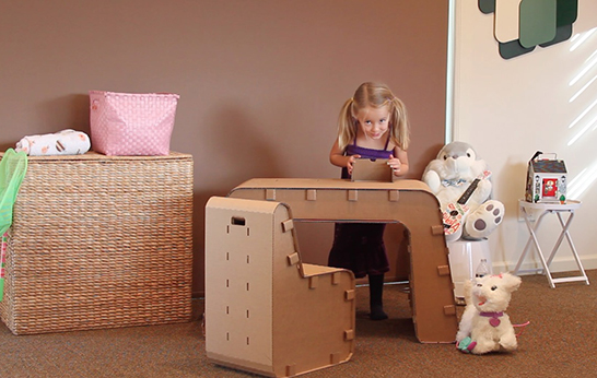 Kids Imagination Desk by The Cardboard Guys (via media.designerpages.com)