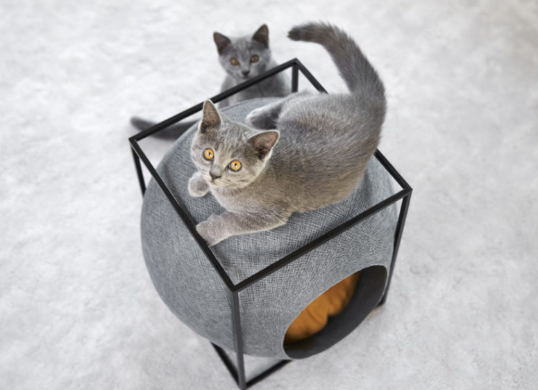 cube cat home by Meyou (via www.designboom.com)