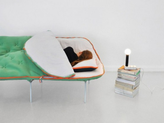 Camp Daybed by Stephanie Hornig (via www.digsdigs.com)