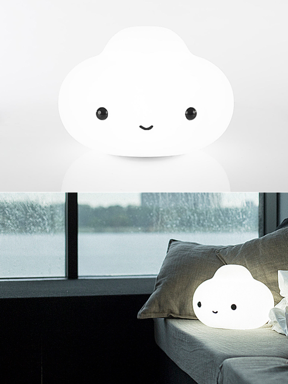 Little Cloud Lamp by FriendsWithYou (via https:)