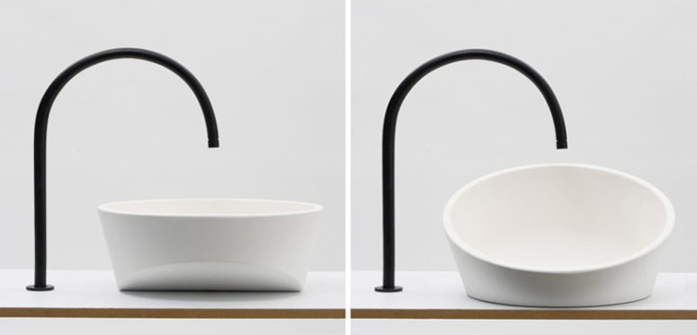 Un Lavobos sink by Gwenole Gasnier (via www.designboom.com)
