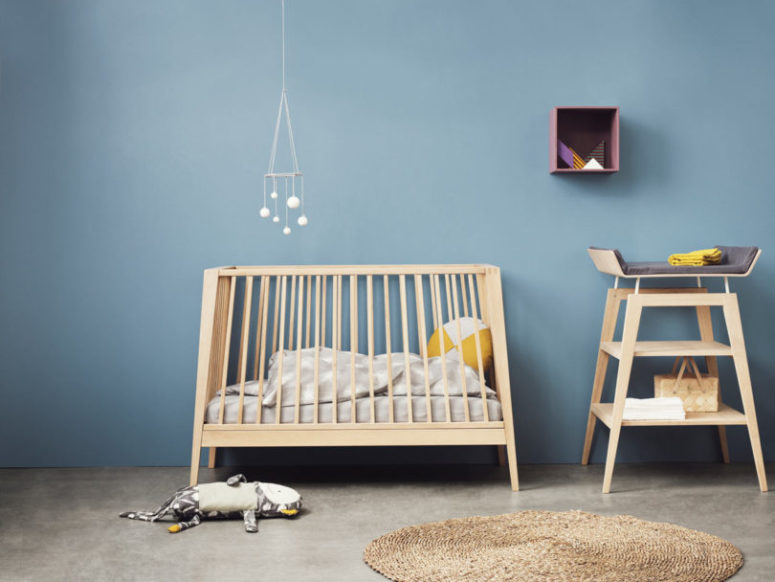 Linea Cot from Leander (via design-milk.com)