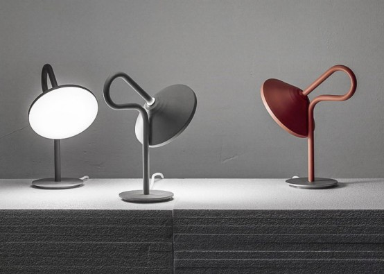 Round lamp by Bao Nghi