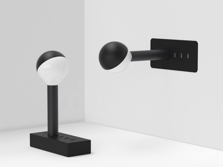 w152 lamp by Wästberg (via www.designboom.com)