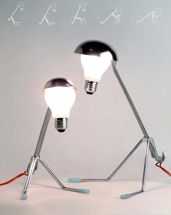 Arcaic Animal Lamp by Cornelius Comanns (via www.designboom.com)