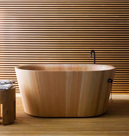 Japanese tub by Matteo Thun (via www.homedit.com)