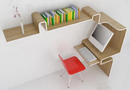 K Workstation from MisoSoupDesigns (via www.furniturefashion.com)