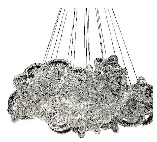 Cloud Round Chandelier By Stonegate Designs (via www.furniturefashion.com)