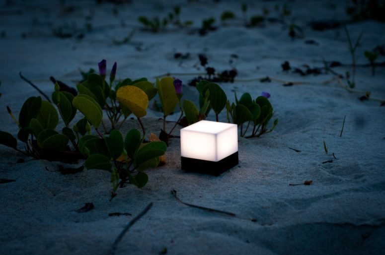 Enevu portable light cube by CKIE (via www.digsdigs.com)