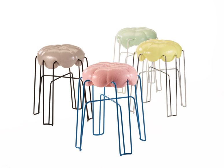 Marshamllow Stool by Paul Ketz (via design-milk.com)
