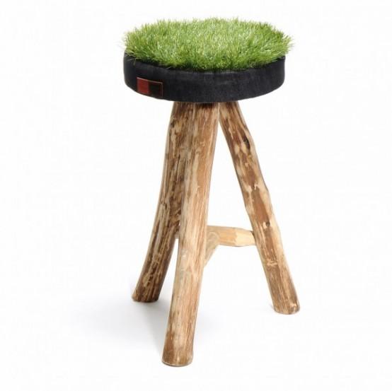 Grass Stool by Jean-Marc Attia (via www.digsdigs.com)