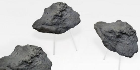 Stone Foam Stool by Matthijs Kok (via www.digsdigs.com)