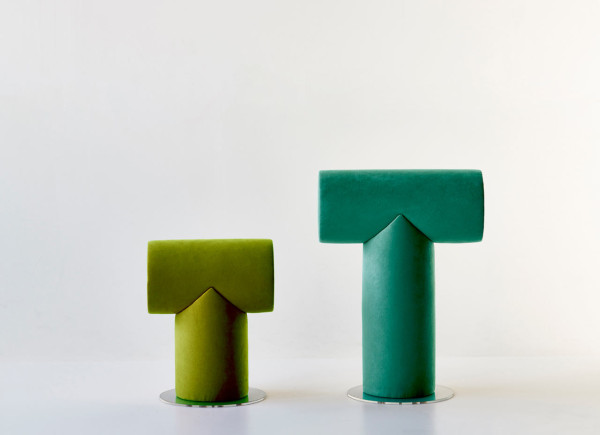 Mr. T. stool by Ola Giertz (via design-milk.com)