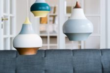 01 Cirque lamps are inspired by hot air balloons and carousels of Tivoli amusement park in Copenhagen