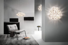 01 Drusa lamps are inspired by diamonds and rocks, they look really unique and very stylish