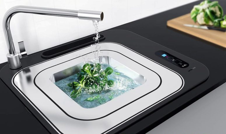 Lifting Sink That Saves Water Effectively