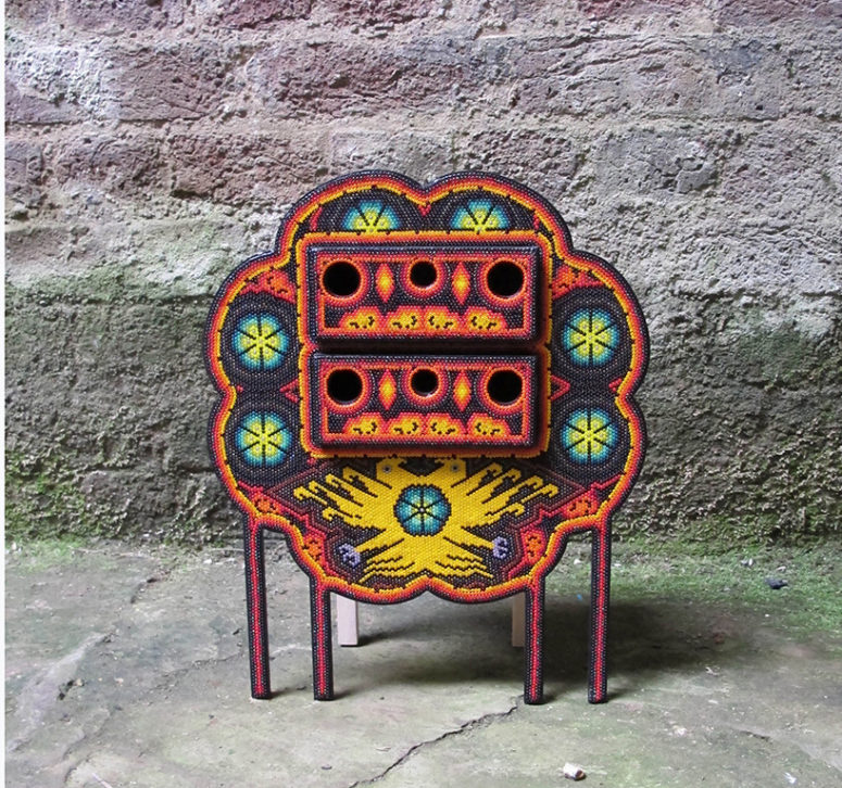 Los Wixarika Furniture Collection Inspired By Religious Beliefs