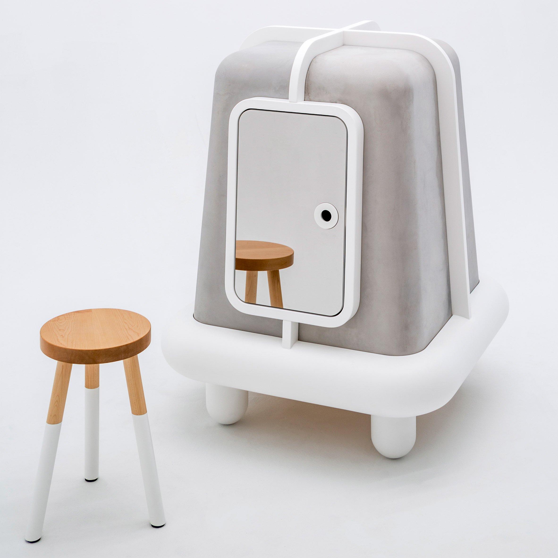 trendy concrete furniture