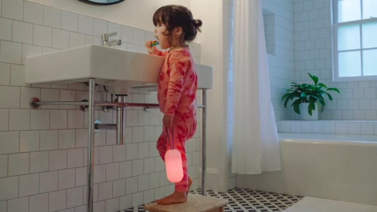 The lamp is portable and comfortable in using, it's an ideal piece for children to carry
