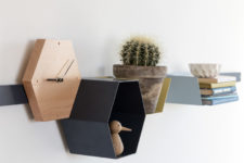 03 The shelves are simply colorful and plain, they can fit almost any modern ambience