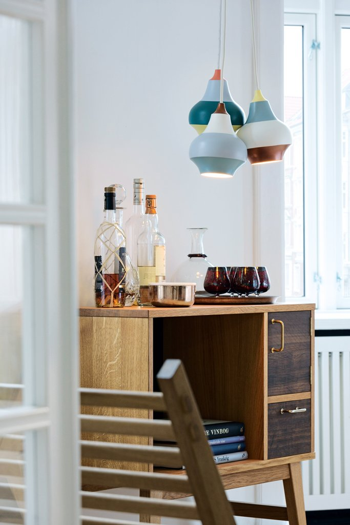 These lamps are great for different spaces, from dining and living spaces to entryways