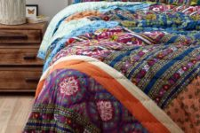 05 colorful printed bedding will raise your mood