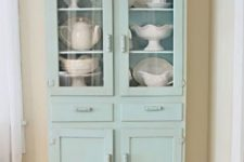 vintage decor with a cupboard