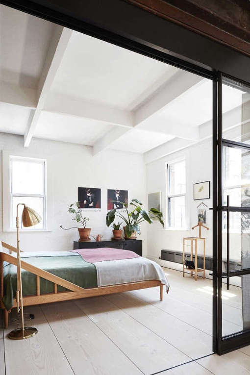 Modern scandinavian meets industrial loft digsdigs Industrial scandinavian bedroom