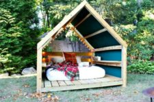 13 cheer up your outdoor bedroom with prints and colors to make it inviting
