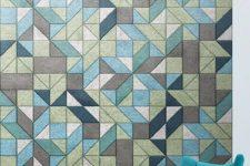 13 stylish geometric wall panels can become eye-catchy wall arts