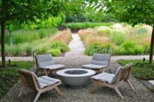 14 wooden lounge chairs with upholstery cover for an effortlessly chic backyard