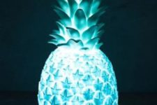 17 blue pineapple light for your bedroom or home bar