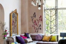 17 don't be afraid to blend seveal carpets to fit your color scheme