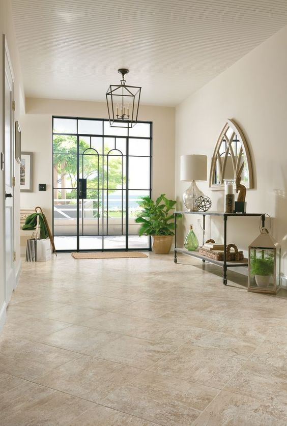 vinyl tiles can be a practical and not costly idea